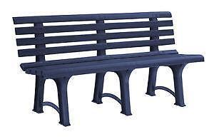 kunststoff gartenbank ebay. Black Bedroom Furniture Sets. Home Design Ideas
