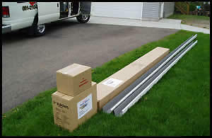 SEAMLESS Gutters/Eavestrough - Pick Up / Delivery / Full Install
