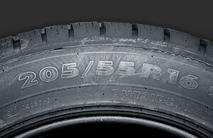 (4) Tires 205/55R16