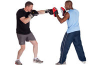BOXING TO RELEASE STRESS WHILE BURNING EXTRA CALORIES