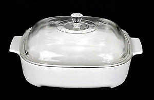 Vintage Corning Ware Microwave Casserole Browner