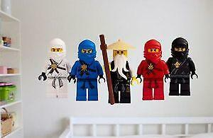 Lego Ninjago Wall Stickers