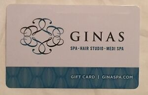 Gina's Spa - $100 gift card - selling for $85