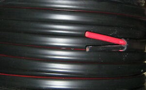 6.50  metre  BATTERY CABLE  8B&S  8mm2 TWIN SHEAT CABLE (BLACK & RED  WIRE)