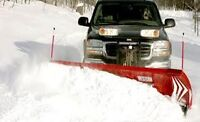 Snow plow Broker wanted for vaughan or Markham with 4x4 pick up