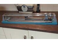 Tile Cutter heavy duty large for up to 600mm tiles - 'silverline'