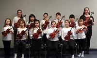 Group Violin and Guitar Lessons for kids aged 6+