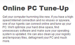 Computer System Tune-Up (Online or In Home)