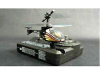 REDUCED - NEW Remote Control (R/C) Silver lit Nano Falcon Helipoter