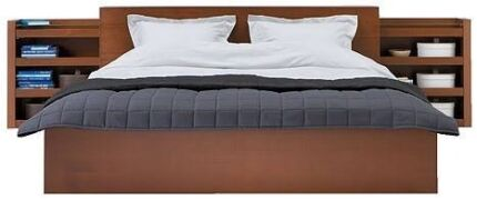 Black version of this ikea bed with storage  Oakleigh Monash Area Preview