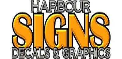 Harbour Signs