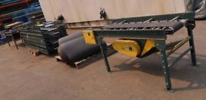 70' Univeyor Double Belt Conveyor includes Double Drive w/ Motor