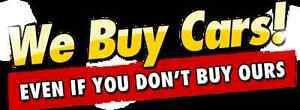 NEED CASH FAST??? WE BUY USED CARS