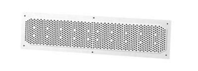 Duraflo 641604 Plastic White Soffit Vent 16 X 4