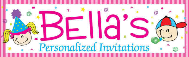Bella's Personalized Invitations