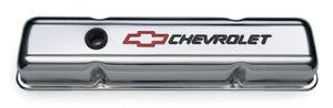 COUVERT DE VALVE CHROME CHEVROLET MOTEUR SMALL BLOCK GM CHEV