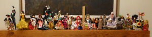 Doll collection, national costumes