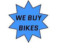 We buy your old push bikes