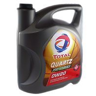 0W20 100% SYNTHETIC OIL TOTAL QUARTZ 9000 FUTURE GF5