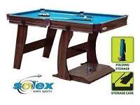 Solex Sport 5Ft Snooker/Pool table.