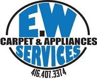 EW APPLIANCE SERVICES. .*EMERGENCY SERVICES AVAILABLE*