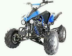 125cc Interceptor quad bike free UK delivery