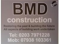 BMD Construction, Your General Building Specialist