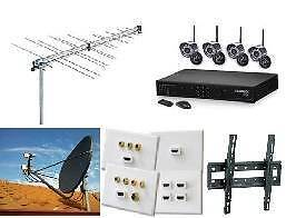 TV Antenna and Satellite and security cameras Installations Glenroy Moreland Area Preview