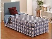 2 x Single divan and Mattress Bed sets both for 90 FREE delivery