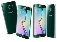Sim Free Samsung Galaxy S6 Edge Green 32GB