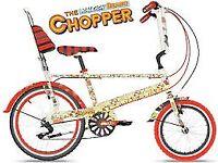 -- RARE RALEIGH BEANO CHOPPER LTD EDITION --