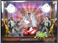 Ghostbusters figures 30th anniversary collectible
