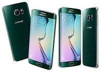 Sim Free Samsung Galaxy S6 Edge Green 32GB
