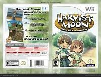 Wii Harvest moon Tree of tranquility