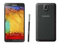NEW OR USED UNLOCKED SAMSUNG GALAXY NOTE 3 BLK/ WHITE PENTABAND