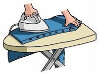 ironing service offered