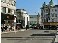 Lovely sunny Double room in Brighton centre clean nice flat language students welcome
