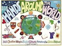 ---New---Hands Around The World - 365 Creative Ways to Build Cultural Awareness & Global Respect