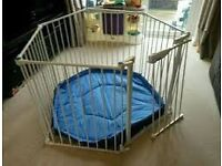 Playpen for sale with mat