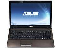 ASUS X53Z A6 2.4GHZQUAD CORE 6GB 500GB RADEON 6520HD OFFICE 2010
