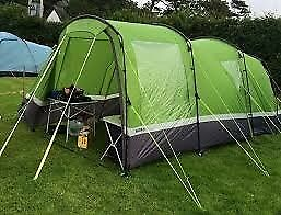3 man tent - HiGear Aura 3 with additional porch. never used.