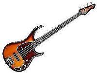 Peavey Milestone Vintage Burst 4 string electric bass guitar