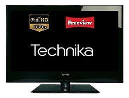 "40"" technika lcd tv with stand an freeview"