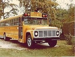 Looking for Running old school bus