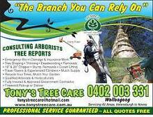 Tony's Tree Care Pty Ltd Mount Kembla Wollongong Area Preview