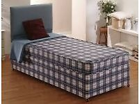 Brand New Single bed with Headboard FREE delivery factory sealed