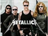 Metallica Tickets Birmingham.Monday 30th October
