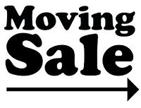 MOVING SALE - FRI 07 AUG and SAT 08 AUG