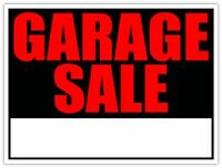 Garage Sale/ Yard Sale