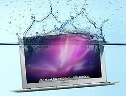 Repair MacBook GPU Problem, Water Damaged Screen, Keyboard
